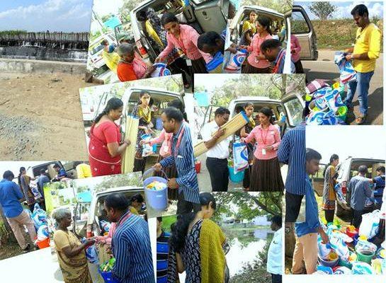Flood Relief-Chennai, Pudhupedu